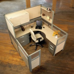 Private Office Created with Panels